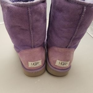 Ladies so 8 new never worn lilac purple UGG boots